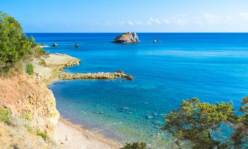 Baths of Aphrodite, Latchi Beach, Cyprus