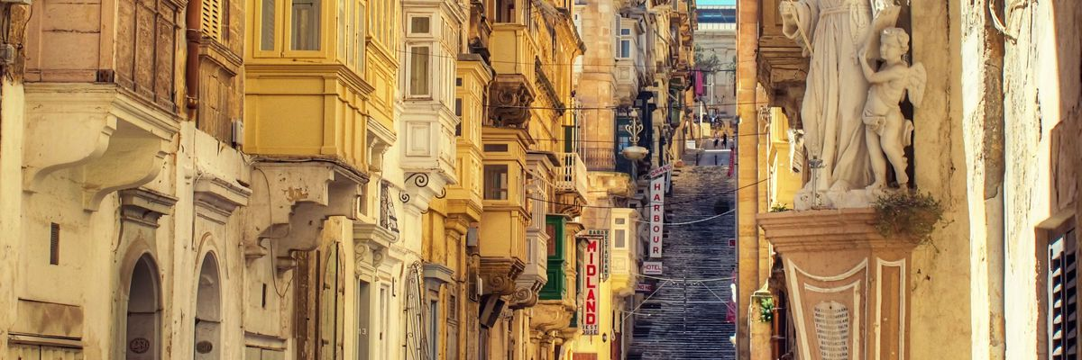 Battery Street, Valletta