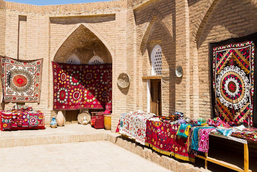 Bazaar, Khiva, Uzbekistan