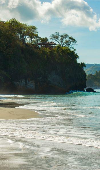 Private beach, Amankila