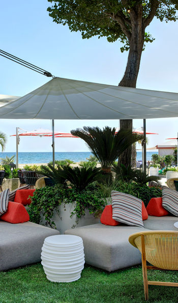 Beach Bar, Hotel Excelsior Venice