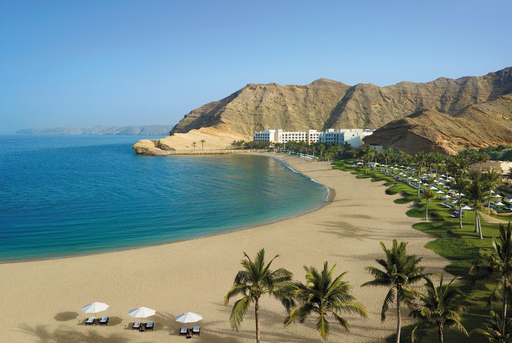 Beach, Barr Al Jissah Resort Oman