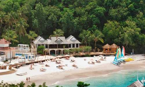 Beach, Bodyholiday, St Lucia