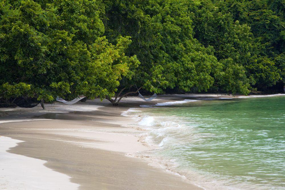 Beach, Gaya Island Resort