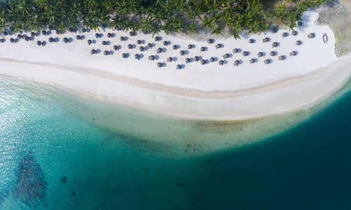 Beach, One&Only Le Saint Géran