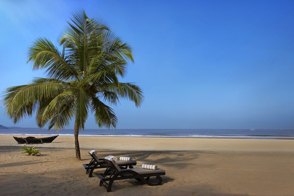Beach, The Leela Goa