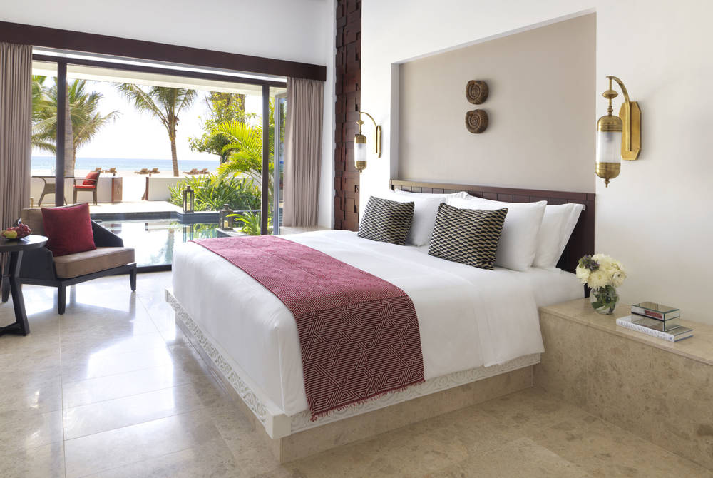 Beach View Deluxe Room, Al Baleed Resort Salalah by Anantara, Oman