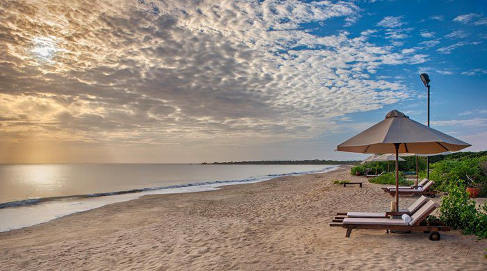 Beach View, Jungle Beach Resort, Trincomalee
