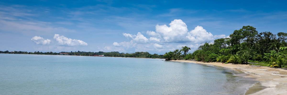 Beach in Colon, Panama