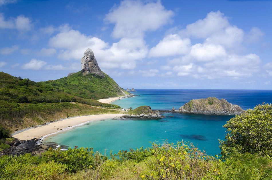 Beach in Fernando de Noronha