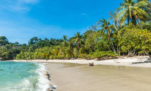 Beach in Manuel Antonio