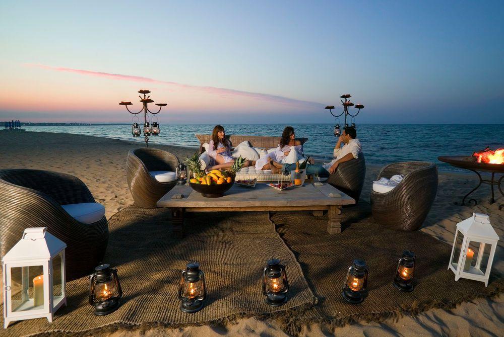 Beach lounge, Masseria Torre Coccaro, Puglia