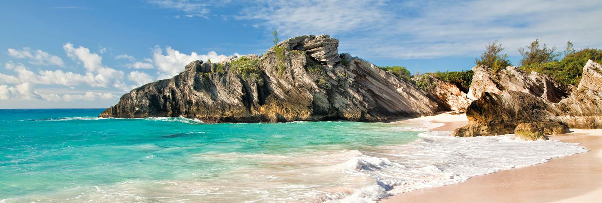 Beach of the south shore, Bermuda