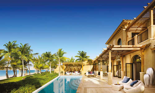 Beachfront Villa pool, One&Only The Palm, Dubai
