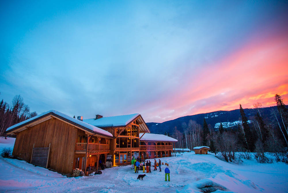 Winter, Bear Claw Lodge