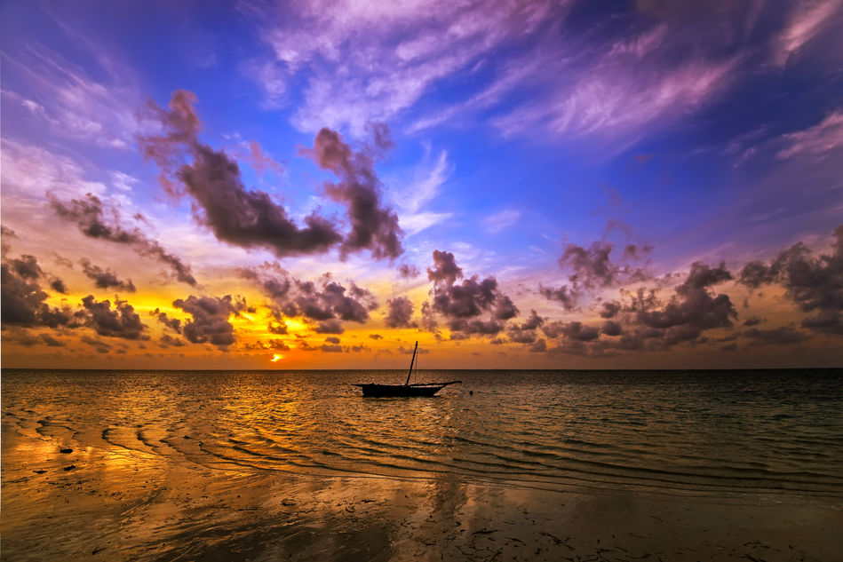 The coast of Mombasa, Kenya - Seabourn Sojourn 2020 World Cruise