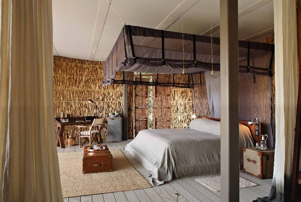 Bedroom, Chinzombo, South Luangwa National Park