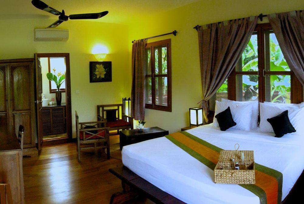 Bedroom, Frangipane, Maison Wat Kor, Cambodia