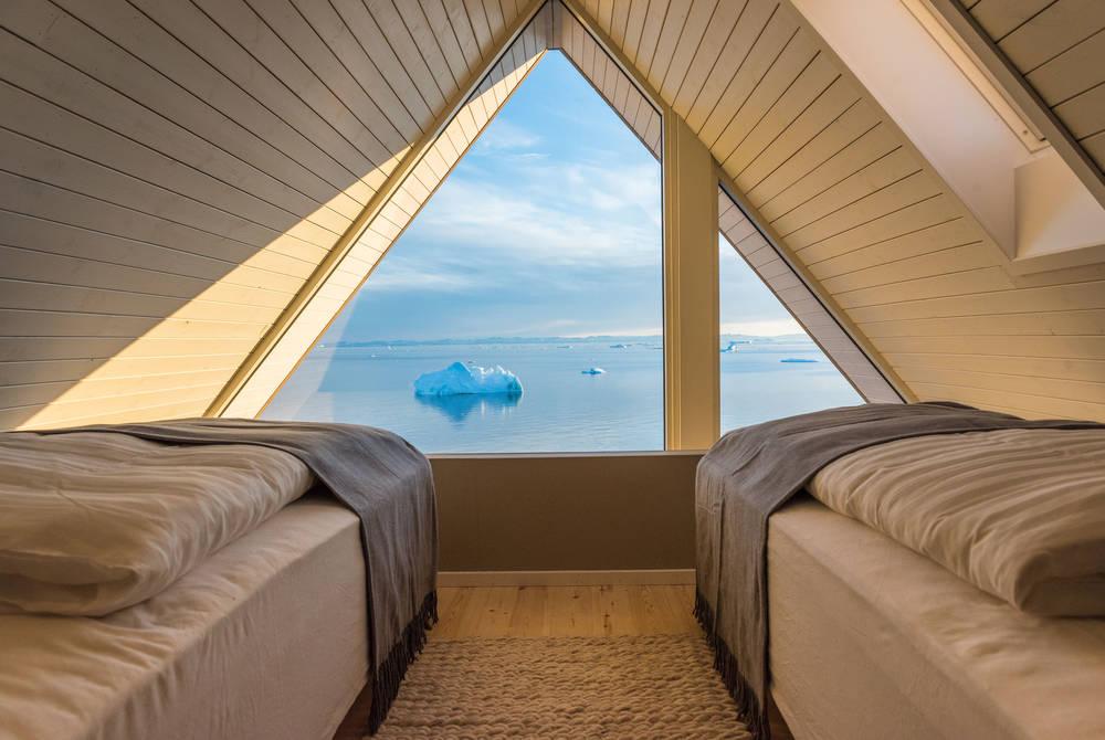 Bedroom, Ilimanaq Lodge, Ilulissat Icefjord