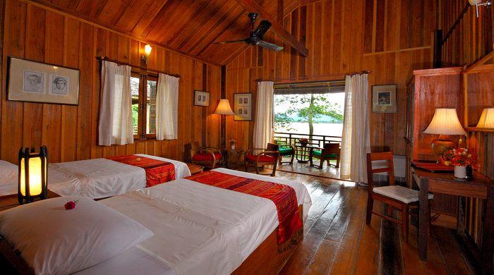 Bedroom, La Folie Lodge, Laos