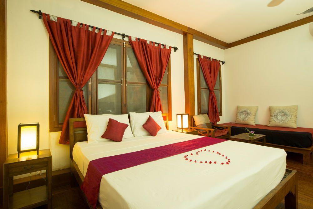 Bedroom, Maison Wat Kor, Cambodia