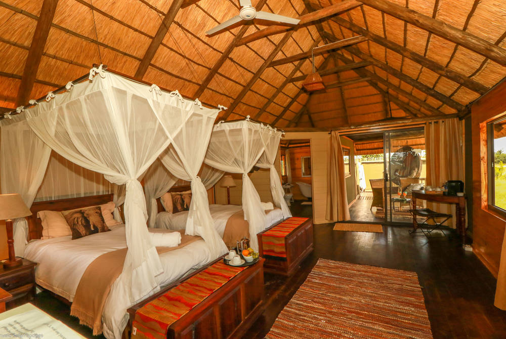 Bedroom, Nehimba Lodge