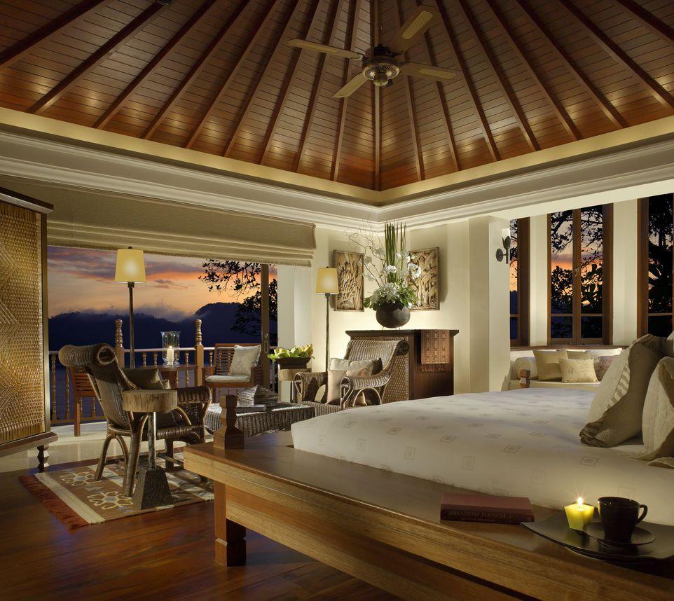 Bedroom, Pangkor Laut Resort, Malaysia