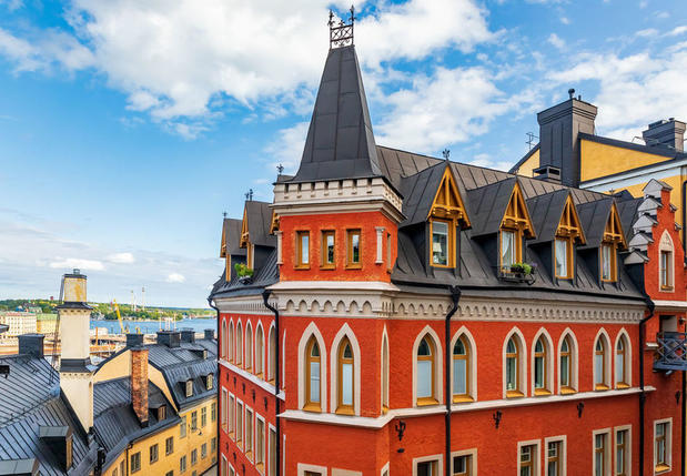 Mikael Blomqvist's apartment, Stockholm