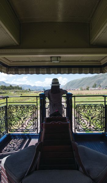 Observation car, Belmond Andean Explorer