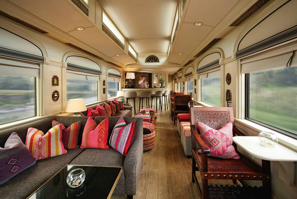 Belmond Andean Explorer Lounge Car