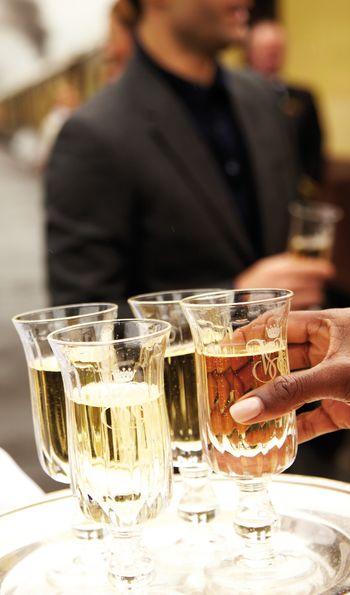 Champagne reception – Belmond British Pullman