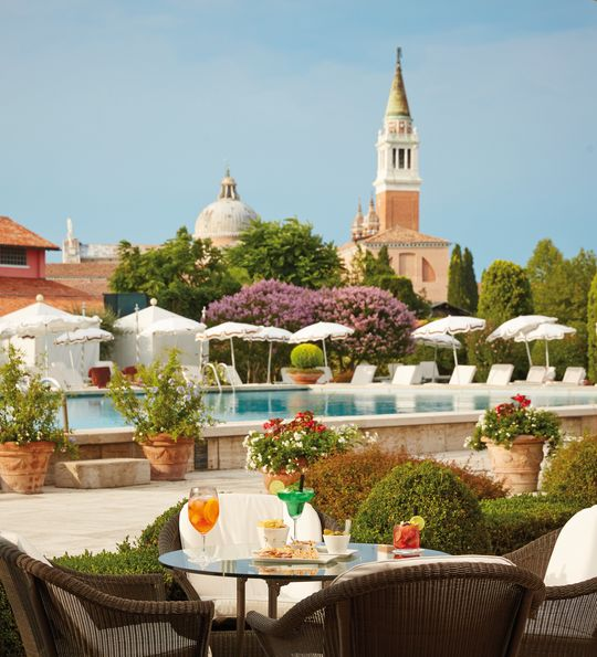 Belmond Cipriani Bar and Pool, Venice