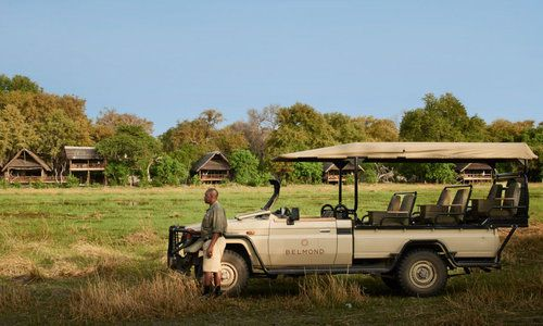 Belmond Khwai River Lodge, Moremi Game Reserve