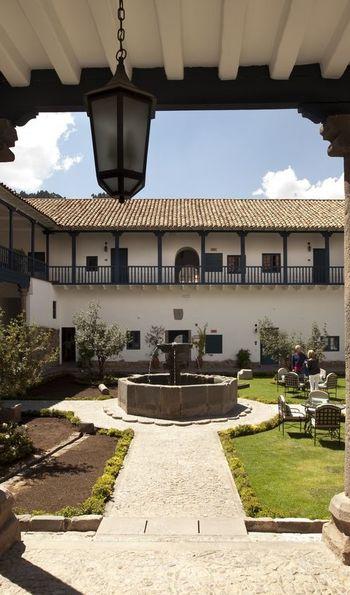 Courtyard, Belmond Palacio Nazarenas, Cusco