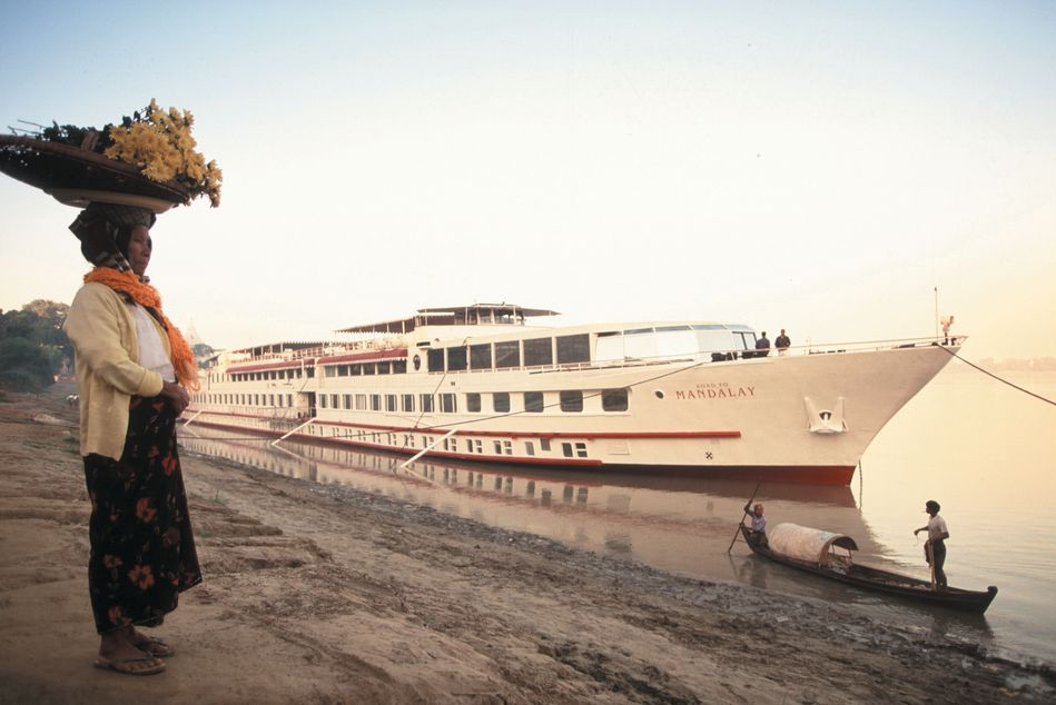 Belmond Road to Mandalay ship