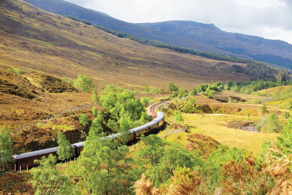 Belmond Royal Scotsman in the Scottish Highlands