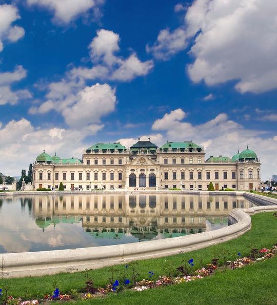 The Belvedere, Vienna, Austria