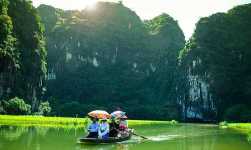 Bich Dong landscapes, Ninh Binh, Vietnam