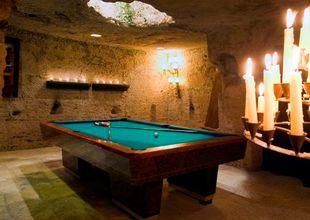 Billiard room, Masseria Torre Coccaro, Puglia