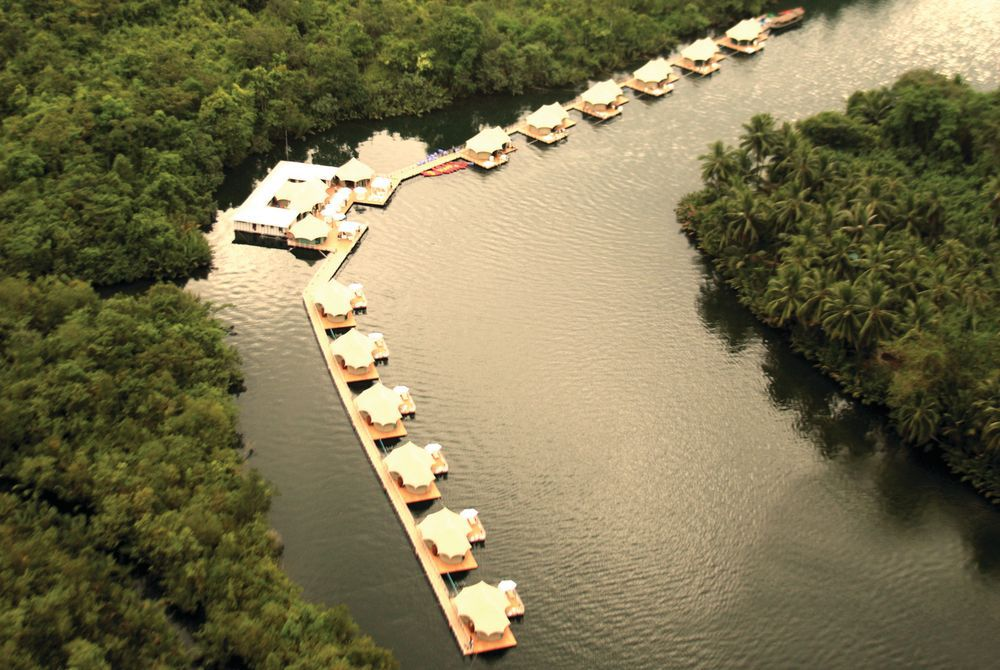 Birdview, 4 Rivers Floating Lodge, Koh Kong, Cambodia