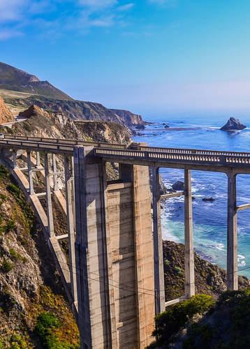 Bixby Bridge, Big Sur, Pacific Coast Highway