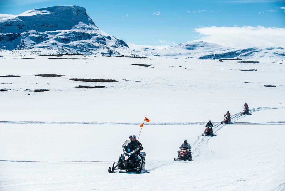 Snowmobiling, Bjorkliden