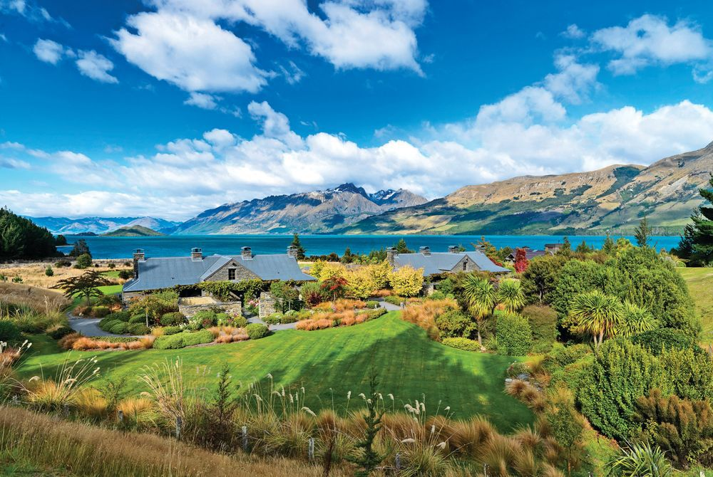 Blanket Bay Chalets, New Zealand