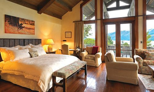 Blanket Bay Paradise Lodge Suite, New Zealand