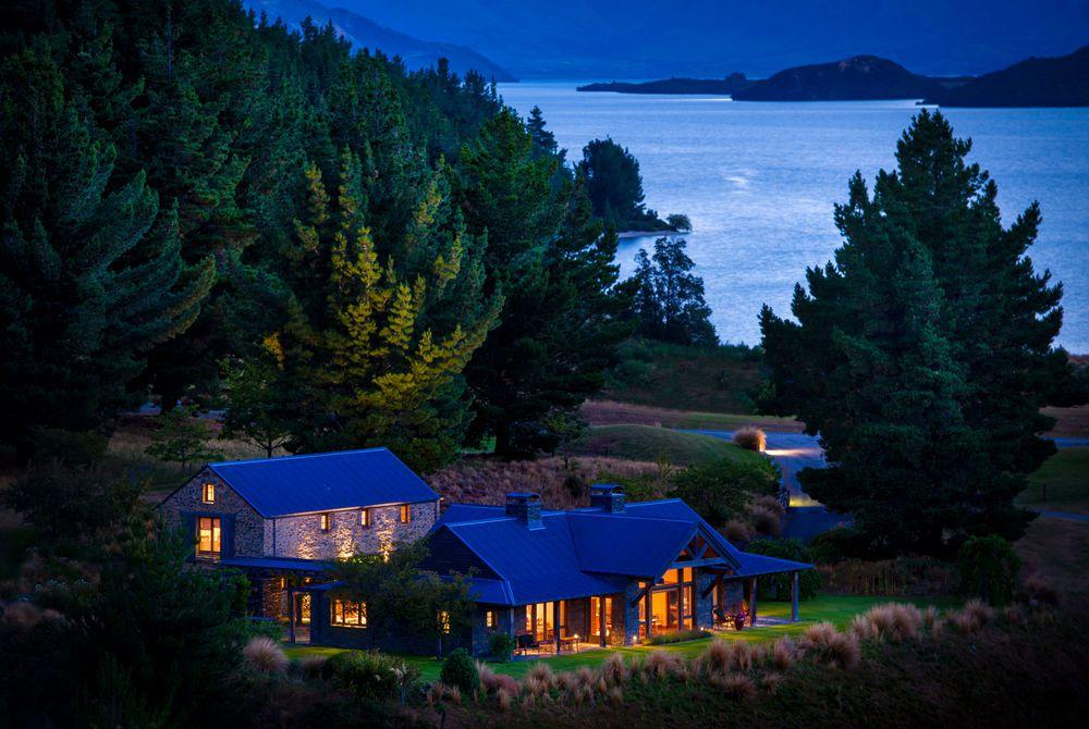 Blanket Bay evening, New Zealand