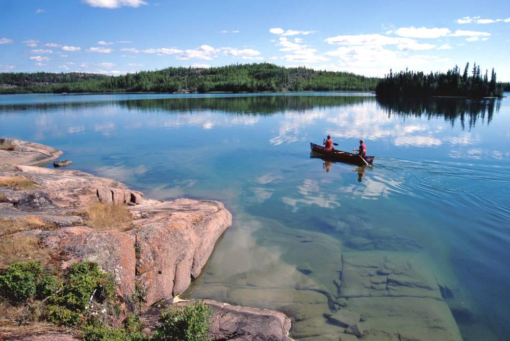 Kayaking, Blachford Lake Lodge