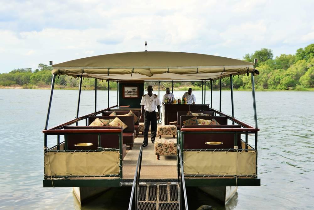 River cruise, Victoria Falls Hotel