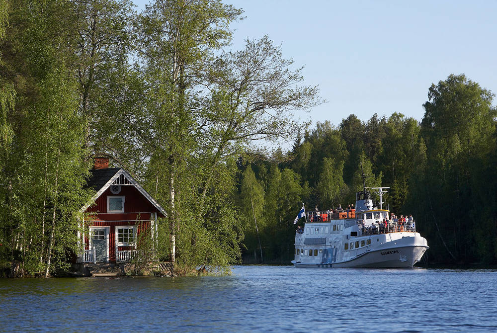 Boat trip, Finnish Lakeland