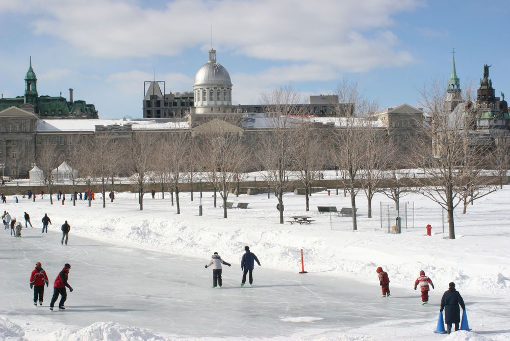 Bonsecours Skating Rink, Montreal, Canada