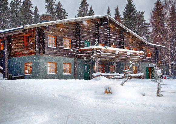 Brändön Lodge, Luleå, Swedish Lapland, Sweden